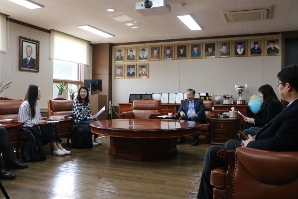 Interview with Yeungnam University's President